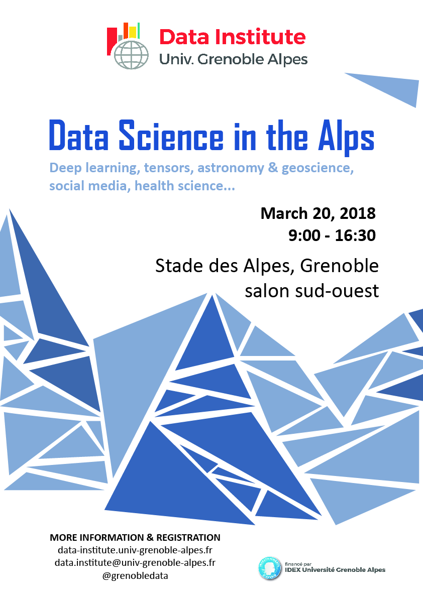 Data science in the alps
